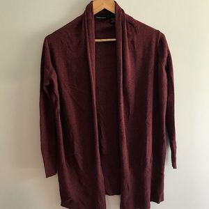 Light-weight comfy red cardigan